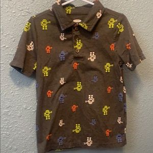 Boy's Old Navy robot shirt size 5t